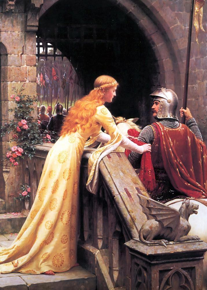 Edmund Blair Leighton God Speed