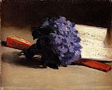 Edouard Manet - Bouquet Of Violets
