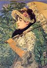 Edouard Manet Canvas Paintings - Spring