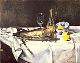 Edouard Manet The Salmon painting