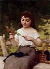 Emile Munier - A Sprig of Berries