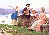 Federico Andreotti A Day's Outing painting
