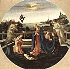 Famous Adoration Paintings - Adoration of the Child