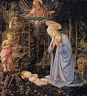 Filippino Lippi - The Adoration with the Infant St