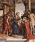 Filippino Lippi The Marriage of St Catherine painting