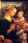 Filippino Lippi - Virgin with Chilrden