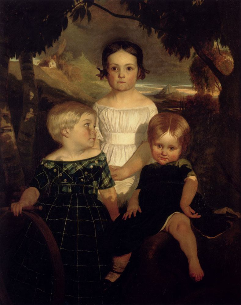 Ford Madox Brown The Bromley Children