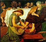 Ford Madox Brown - Jesus washing Peter's feet at the Last Supper