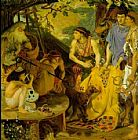Ford Madox Brown The Coat of Many Colors painting