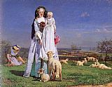 Ford Madox Brown - The Pretty Baa-Lambs