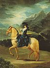 Francisco de Goya Maria Teresa of Vallabriga on Horseback painting