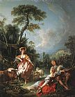 fran Canvas Paintings - Francois Boucher