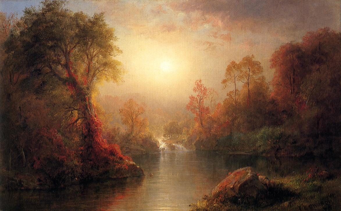 Frederic Edwin Church Canvas Paintings