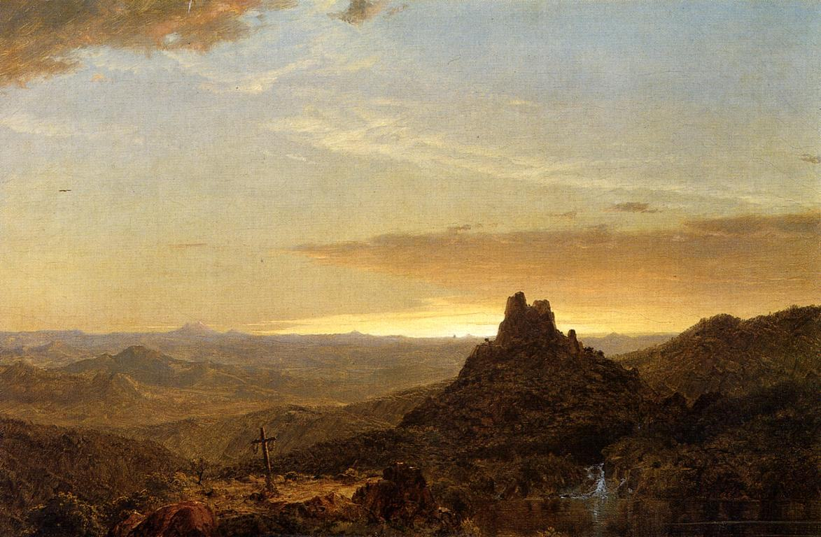 Frederic Edwin Church Cross in the Wilderness