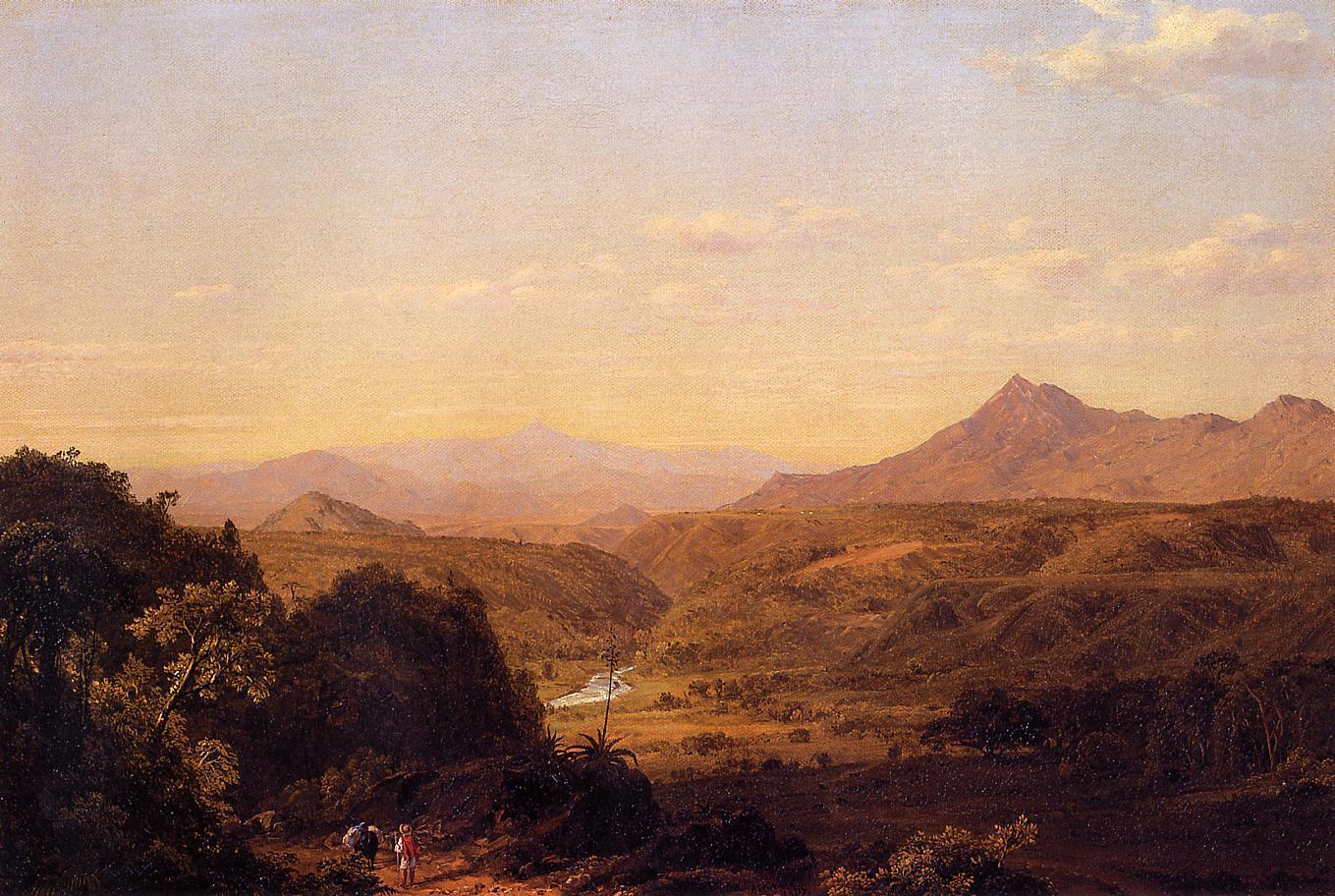 Frederic Edwin Church Scene among the Andes