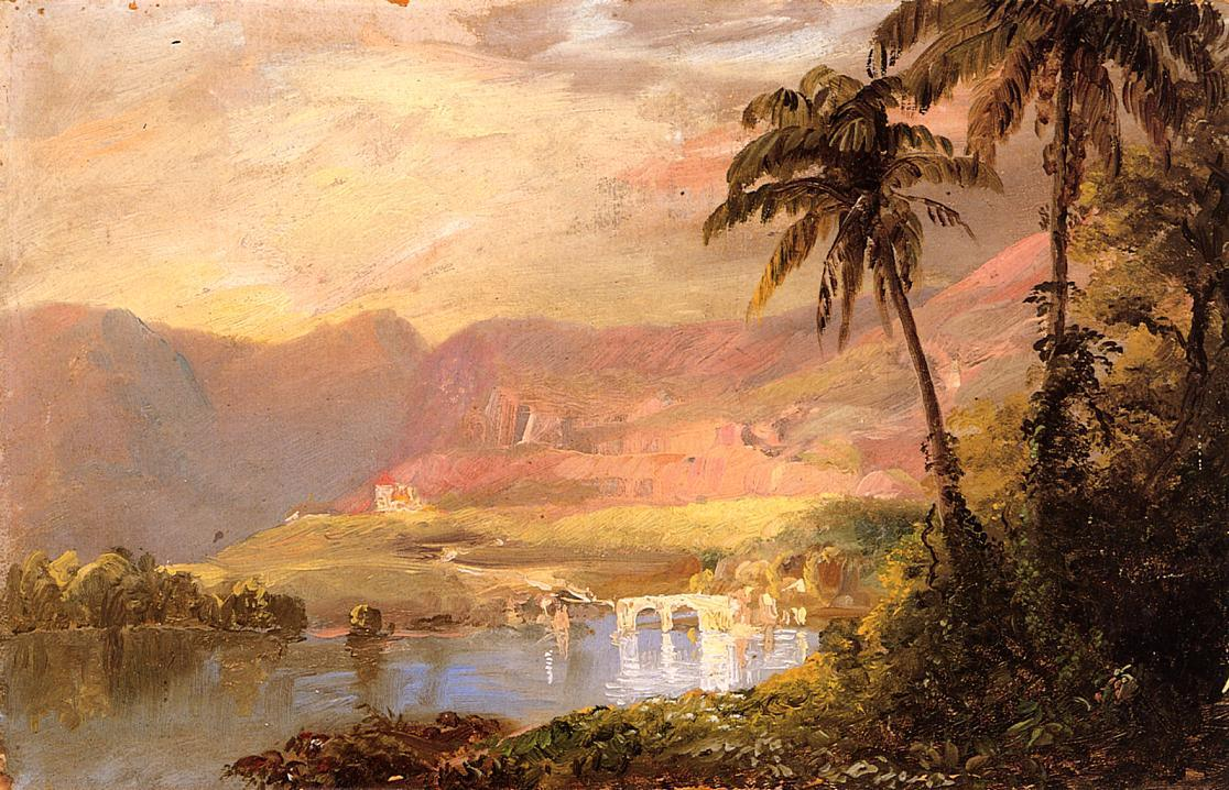 Famous tropical paintings for sale famous tropical paintings for Tropical landscape
