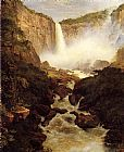 Frederic Edwin Church Tequendama Falls, near Bogota, New Granada painting