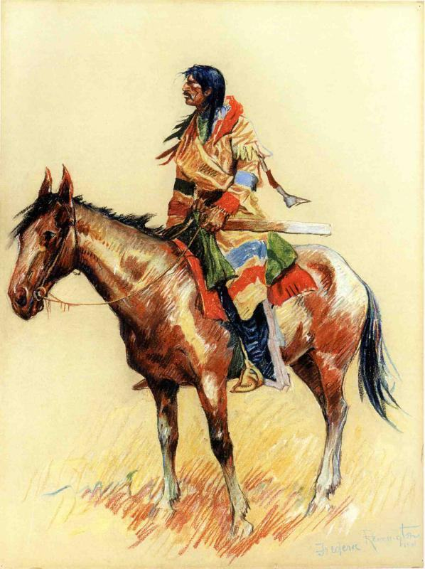 Frederic Remington A Breed