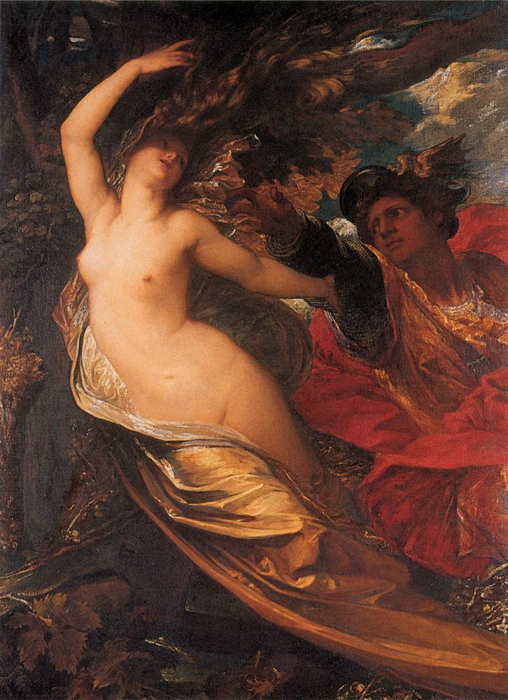 George Frederick Watts Orlando Pursuing the Fata Morgana