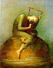 George Frederick Watts Watts Hope painting