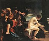 ann Canvas Paintings - Susanna and the Elders