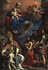 Guercino The Patron Saints of Modena painting