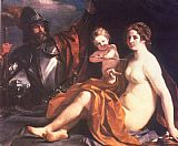 Guercino - Venus, Mars and Cupid