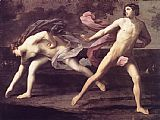Guido Reni Atalanta and Hippomenes painting