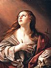 Guido Reni The Penitent Magdalene painting