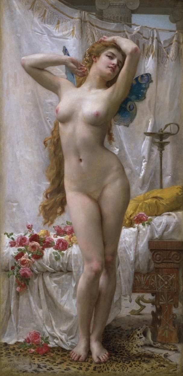 Guillaume Seignac The Awakening of Psyche