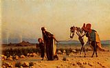 Gustave Clarence Rodolphe Boulanger The Return painting