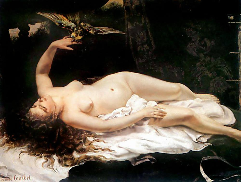 Gustave Courbet Canvas Paintings