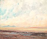Gustave Courbet Canvas Paintings - Marine