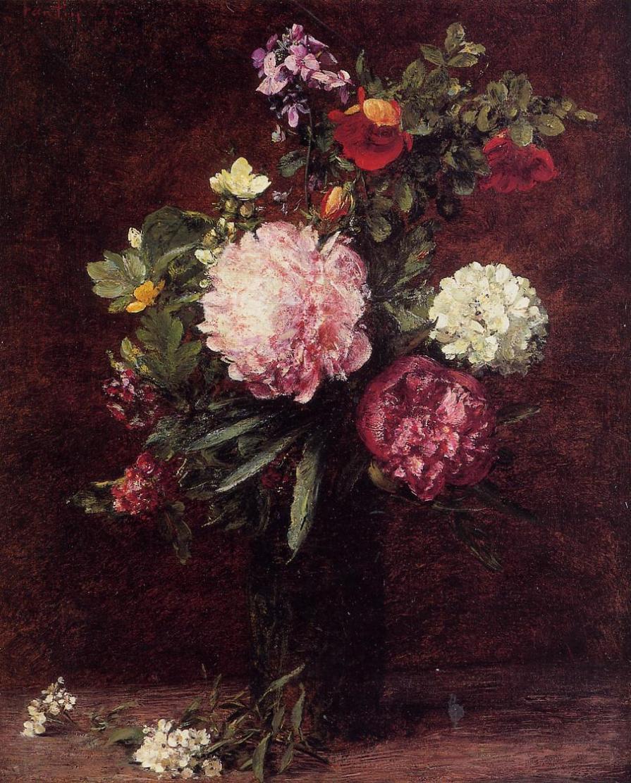 Famous Flower Paintings Famous Bouquet Paintings