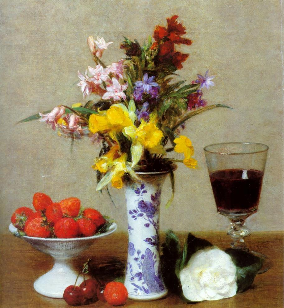 henri fantin-latour Canvas Paintings