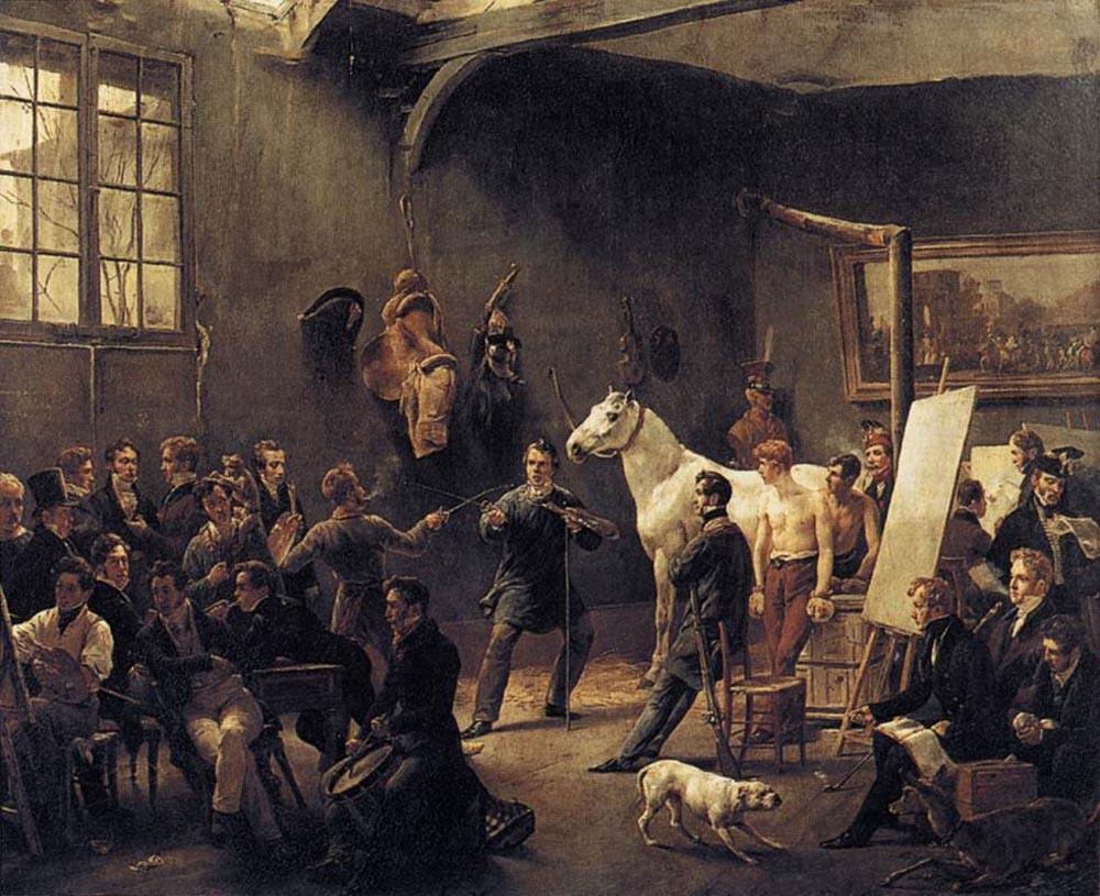Horace Vernet The Artist's Studio
