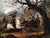 Horace Vernet - Napoleonic battle in the Alps