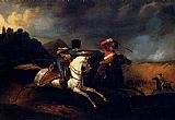 Horace Vernet - Two Soldiers On Horseback