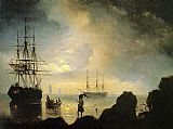 Ivan Constantinovich Aivazovsky Fishermen on the Shore painting
