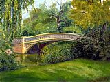Bridge Canvas Paintings - Bow Bridge