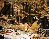 James Jacques Joseph Tissot - Tissot The Picnic