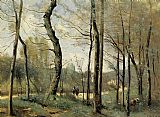 Jean-Baptiste-Camille Corot - First Leaves, near Nantes