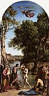 Jean-Baptiste-Camille Corot - The Baptism of Christ