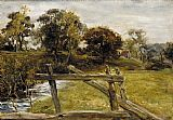 John Everett Millais - View Near Hampstead