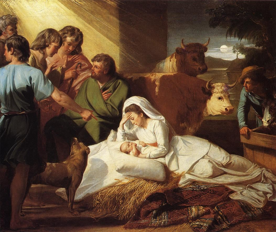 Famous Painting of the Nativity http://framingpainting.com/famous-paintings/famous_nativity_paintings.html