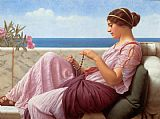 John William Godward - Godward A Souvenir