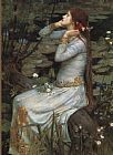 John William Waterhouse Famous Paintings - Waterhouse Ophelia