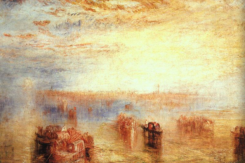 Joseph Mallord William Turner Approach to Venice