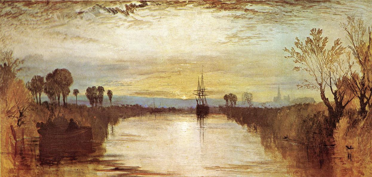 Joseph Mallord William Turner Chichester Canal
