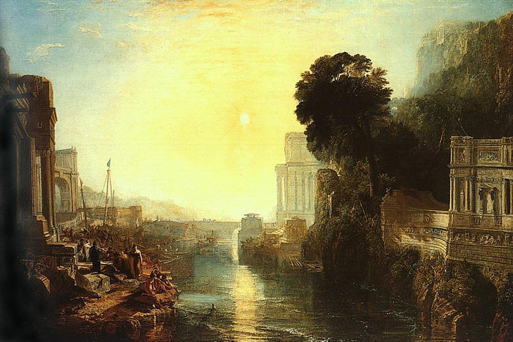Joseph Mallord William Turner Dido Building Carthage